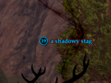 A shadowy stag (Antonica)