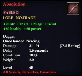 Absolution (Item)