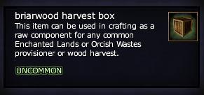 Briarwood harvest box