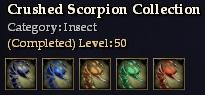 Crushed Scorpion Collection