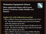 Thalumbra Equipment Infuser