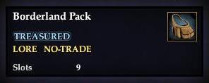 Borderland Pack
