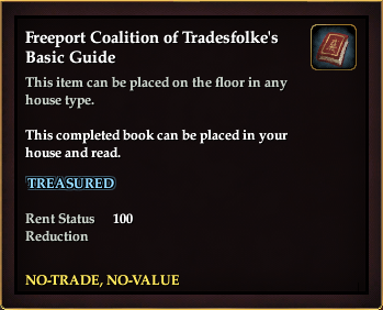 Freeport Coalition of Tradesfolke's Basic Guide