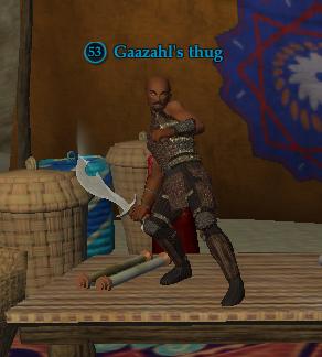 Gaazahl's thug