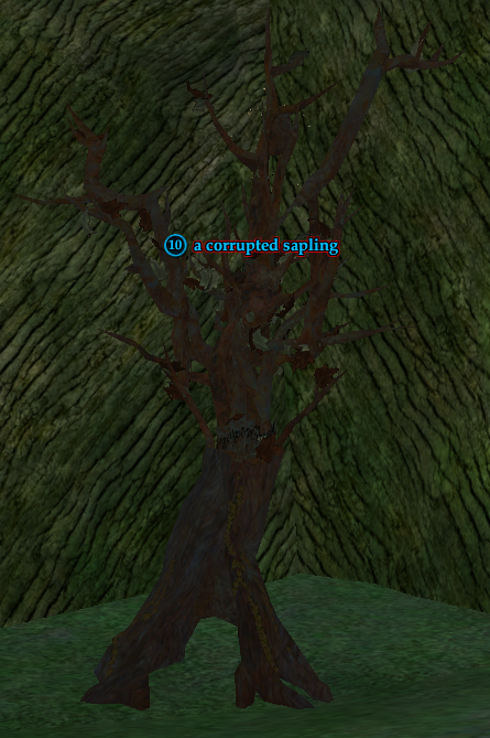 A corrupted sapling