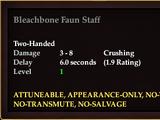 Bleachbone Faun Staff