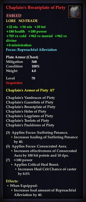 Chaplain's Breastplate of Piety (Version 1)