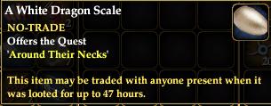 A White Dragon Scale