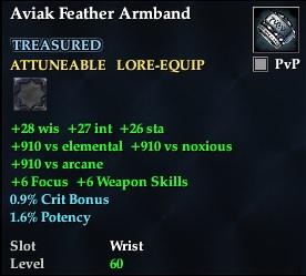 Aviak Feather Armband