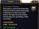 Excavation Helmet