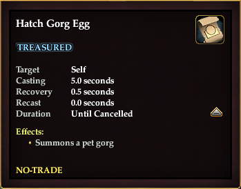 Hatch Gorg Egg
