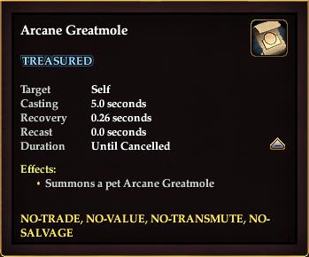 Arcane Greatmole