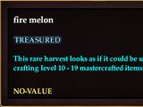Fire melon