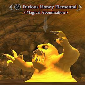 Furious Honey Elemental (Advanced Solo)