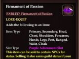 Firmament of Passion