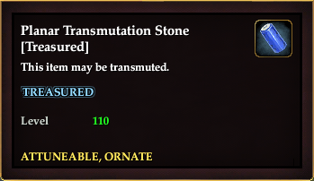 Planar Transmutation Stone (Treasured)