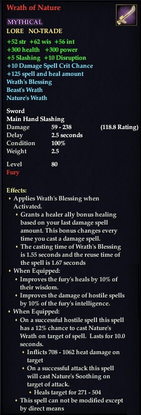 Wrath of Nature (Mythical)