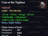 Coat of the Vigilant