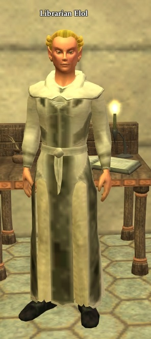 Librarian Elol