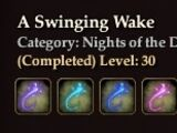A Swinging Wake