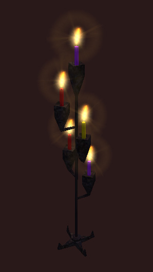 An enchanter's candelabra