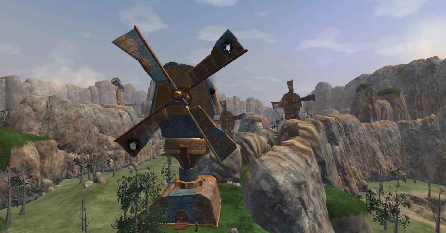 Damaged Windmill