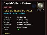Fitzpitzle's Hover Platform (Mount)