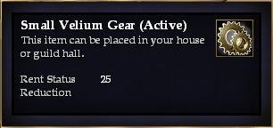 Small Velium Gear (Active)