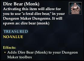 Dire Bear (Monk)