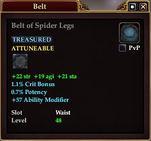 Belt of Spider Legs