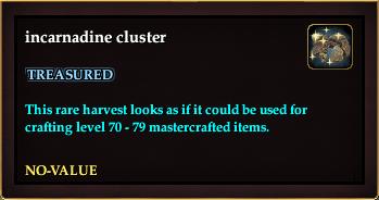 Incarnadine cluster (QuestReward)
