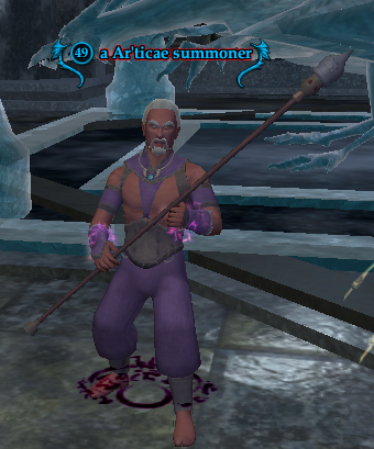 A Ar'ticae summoner