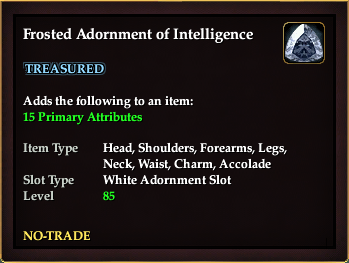 Frosted Adornment of Intelligence