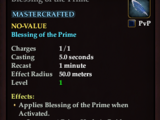 Blessing of the Prime