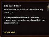 The Last Battle (CollectionReward)