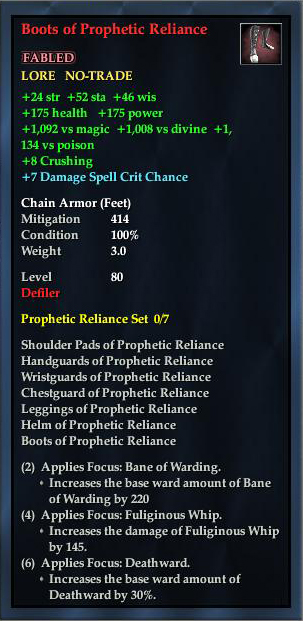 Boots of Prophetic Reliance