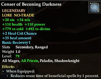 Censor of Beconing Darkness