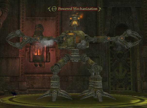 Powered Mechanization