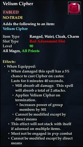 Velium Cipher