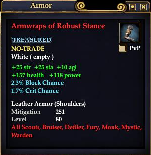 Armwraps of Robust Stance