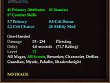 Ornate Dagger of Skinning (Level 72)