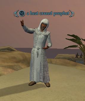 A heat crazed prophet