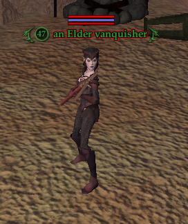 An Elder vanquisher