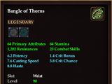 Bangle of Thorns