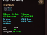 Bangle of the Icewing