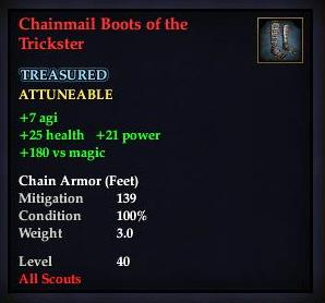 Chainmail Boots of the Trickster