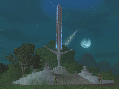 Claymore Monument