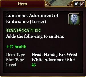 Luminous Adornment of Endurance (Lesser)
