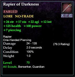 Rapier of Darkness (Version 1)