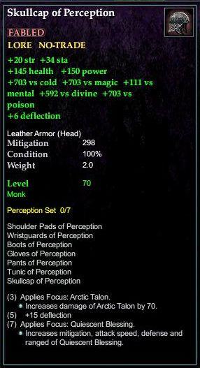 Skullcap of Perception (Version 1)